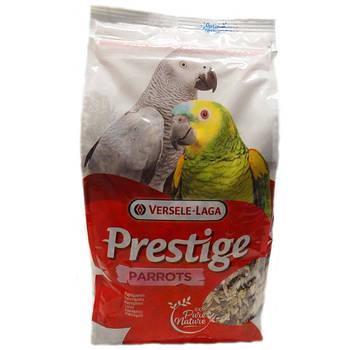 Корм Versele-Laga Prestige КРУПНЫЙ ПОПУГАЙ (Parrots) зерновая смесь корм для крупных попугаев, 1 кг