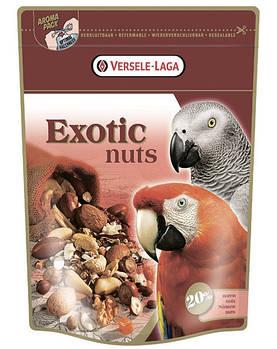 Корм Versele-Laga Prestige ЭКЗОТИЧЕСКИЕ ОРЕХИ (Exotic Nut Mix) зерновая смесь для крупных попугаев, 0,75 кг