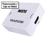 Преобразователь переходник конвертер с Vga на Hdmi
