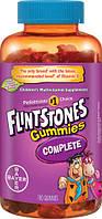 Bayer Flintstones gummies complete  180 шт витамины детские жевательные , фото 1