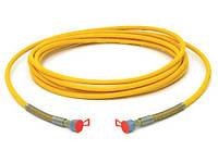 Шланг високого тиску (жовтий), 7,5 м.