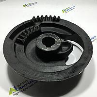 Тарелка (диск) привода вязального аппарата на пресс-подборщик New Holland, D-30мм. шпонка-10мм.