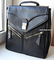 Женская сумка-портфель под А-4. Женский рюкзак под нетбук. СР12