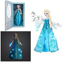 Кукла Эльза поющая 40 см большая и светится Холодное сердце Дисней Elsa Singing deluxe Disney оригинал