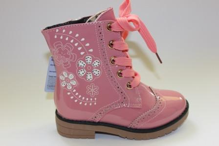 fb2be8c7b5b174 Лаковые ботинки для девочки ТМ Шалунишка 25-27р., цена 450 грн., купить в  Одессе — Prom.ua (ID#511305659)