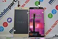 Оригинальный Дисплей (Модуль) + Сенсор (Тачскрин) для Xiaomi RedMi 3 | 3S | 3X | 3Pro (Золотой)