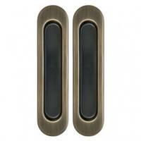 Ручки для раздвижных дверей  AGB ВО1927.00.02 бронза