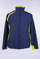 Спортивная куртка мужская темно-синяя stanno
