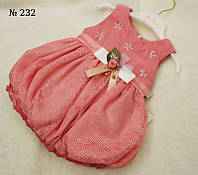 Платье детское (232) 6-9, розовый