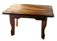 Стол деревянный под старину БАРОН для дома, бани, ресторана и бара