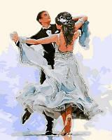 """Раскраска по номерам Турбо """"Свадебный танец Худ Ричард Макнейл""""  40 х 50 см"""