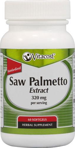 Saw Palmetto экстракт стандартизированый (85-95) + масло тыквы семян 320 mg (сут доза) 60  капс