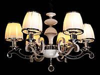 Люстра классическая с ЛЕД подсветкой веток на шесть ламп Ls 8316-6