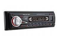 Автомагнитола 1 ДИН USB SD AUX 4RCA в машину съемная панель 1080/ISO
