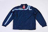 Спортивная осенняя куртка мужская для бега синяя uhlsport