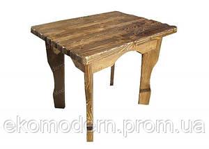 Стол деревянный под старину БАРОН-квадрат для ресторана, паба