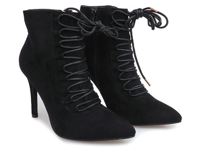 Женские ботинки Geraghty CZARNY