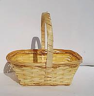 Маленькая плетеная корзинка сетка 17см