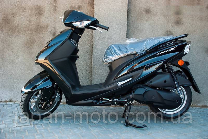 YAMAHA CYGNUS X SR 125 black/white (новый)