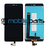 Оригинальный Дисплей (Модуль) + Сенсор (Тачскрин) для Xiaomi RedMi Note 4 (Черный)