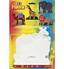 Набор полей для Midi - слон, жираф, лев, верблюд, Hama