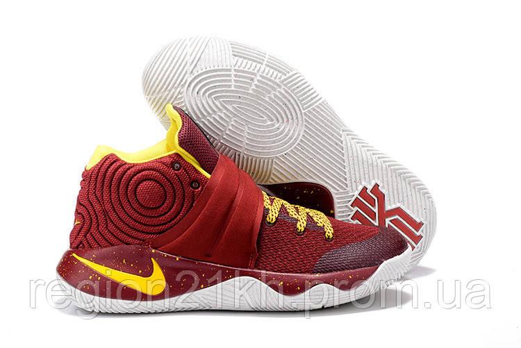 Баскетбольные кроссовки Nike KYRIE 2 Red Yellow
