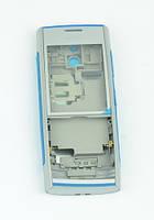 Корпус на телефон Nokia X2-00 серебро