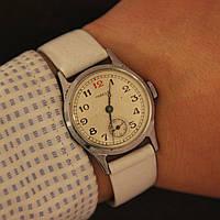 Победа красная цифра 12 винтажные советские наручные часы СССР