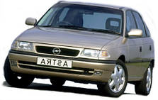 Защита двигателя на Opel Astra F (1991-1997)