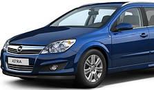 Защита двигателя на Opel Astra H (с 2004---)