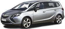 Защита двигателя на Opel Zafira C (c 2011---)