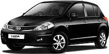 Защита двигателя на Nissan Tiida (с 2004---)