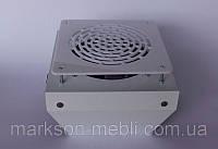 Мощная встроенная вытяжка для маникюрного стола Декарт 3 (белая) 300 куб. м/ год