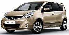 Защита двигателя на Nissan Note (2005-2013)