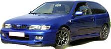 Защита двигателя на Nissan Almera (1995-2000)