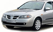 Защита двигателя на Nissan Almera N16 (2000-2006)