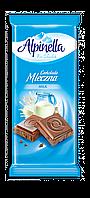 "Шоколад Alpinella Mleczna ""Milk Chocolate"" (Молочна) - 100 г."