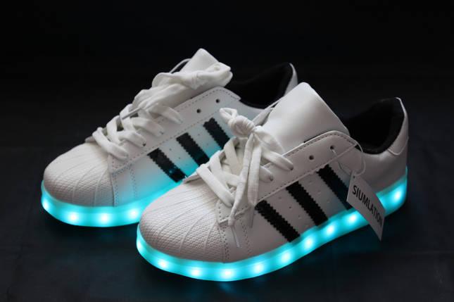 LED Кроссовки Superstar, фото 2