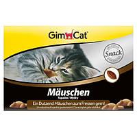 GimCat Mauschen лакомство для кошек в виде мышек, 12шт