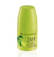 Ив Роше Дезодорант-Антиперспирант 24Ч Зелёный Лимон Мексики