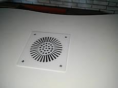 Встроенная вытяжка для маникюрного стола Dekart 2 (белая)