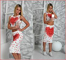 """Костюм """"MOSHCINO"""" (топик и юбка)"""