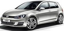 Защита двигателя на Volkswagen Golf 7 (с 2012---)