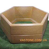 Вазон бетонный для цветов «Каскад» садовый, фото 2