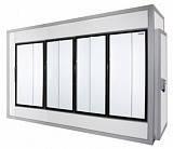Холодильная камера POLAIR (ПОЛАИР) со стеклянным фронтом КХН - 8,81