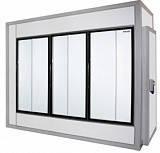 Холодильная камера POLAIR (ПОЛАИР) со стеклянным фронтом КХН - 6,61