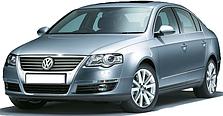 Защита двигателя на Volkswagen Passat B-6 (2005-2010)