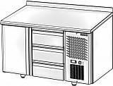 Холодильный стол POLAIR (ПОЛАИР) TMGN2-03-G 320 л -2 +10