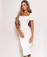 Платье №Ft282, белое