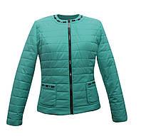 Куртка жакет женская мятная